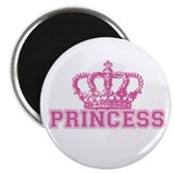 "Crown Princess 2.25"" Magnet (100 pack)"