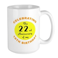 40th Birthday Anniversary Coffee Mug