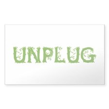 Unplug Decal