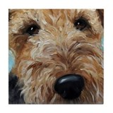 Cute Terrier Tile Coaster