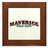 Maverick Demon Hunter Framed Tile