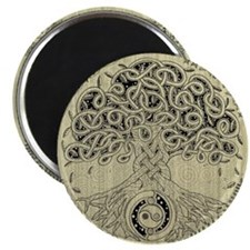 Celtic Tree of Life Ink Magnet