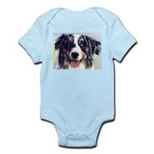 Unique Australian shepherd Infant Bodysuit