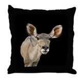 Kudu Ears Throw Pillow