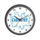 Chemistry Bubbles Wall Clock