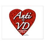 """Anti-VD"" Small Poster"