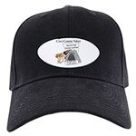 Caveman Census Taker Black Cap