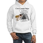 Caveman Census Taker Hooded Sweatshirt