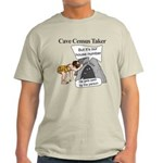 Caveman Census Taker Light T-Shirt