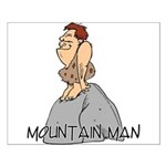 Mountain Man Small Poster