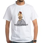 Mountain Man White T-Shirt