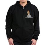 Mountain Man Zip Hoodie (dark)