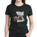 Caveman census Taker Women's Dark T-Shirt