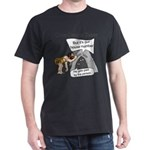 Caveman census Taker Dark T-Shirt