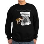 Caveman census Taker Sweatshirt (dark)