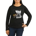 Caveman census Taker Women's Long Sleeve Dark T-Sh
