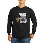 Caveman census Taker Long Sleeve Dark T-Shirt