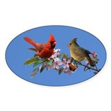 Cardinal pair Decal