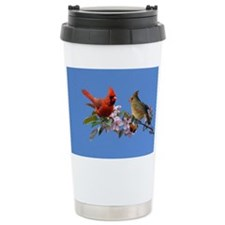 Cardinal pair Ceramic Travel Mug