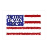 Re-Elect Obama 2012 Postcards (Package of 8)