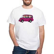 Carpool White T-Shirt