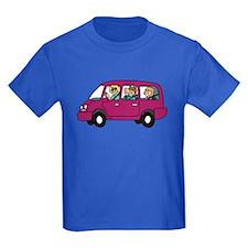 Carpool Kids Dark T-Shirt