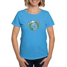 Earth Blues Women's Dark T-Shirt