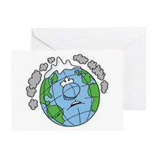 Earth Blues Greeting Card