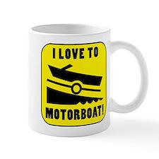 I Love To Motorboat! Mug
