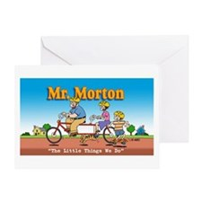Mr. Morton Greeting Card
