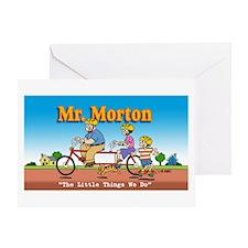 Mr. Morton Greeting Card