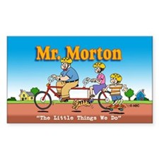 Mr. Morton Sticker (Rectangle)