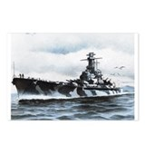 USS Alabama Ships Image Postcards (Package of 8)