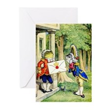 A ROYAL INVITATION Greeting Cards (Pk of 20)