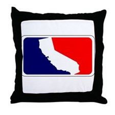 Cute Nor cal Throw Pillow
