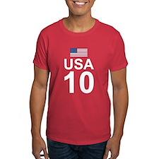 usa10_white T-Shirt