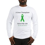 Liver Transplant Survivor Long Sleeve T-Shirt