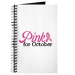 Pink For October Journal