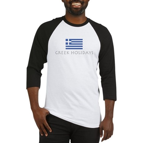 Greek Holidays Baseball Jersey