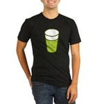 St Patrick's Day Organic Men's Fitted T-Shirt (dar