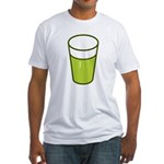 Green Beer Fitted T-Shirt