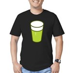 Green Beer Men's Fitted T-Shirt (dark)