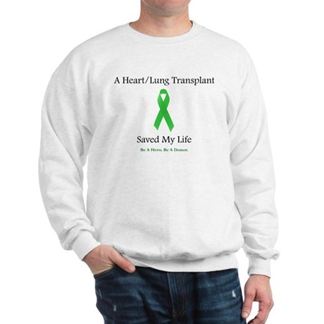 Heart/Lung Survivor Sweatshirt