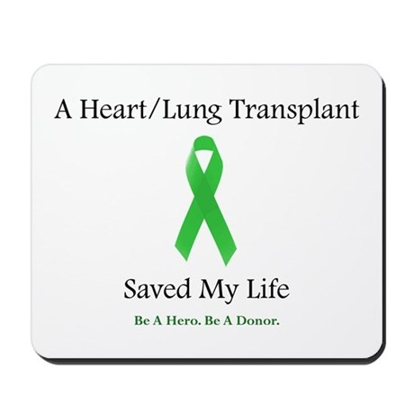 Heart/Lung Survivor Mousepad