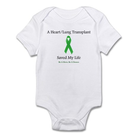 Heart/Lung Survivor Infant Bodysuit