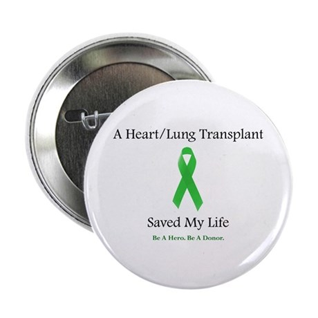 Heart/Lung Survivor Button