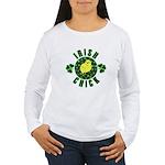 Irish Chick Women's Long Sleeve T-Shirt