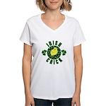 Irish Chick Women's V-Neck T-Shirt