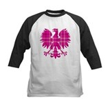 Pink Plaid Polish Eagle Tee