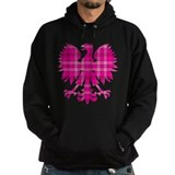Pink Plaid Polish Eagle Hoody